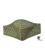 Nordic Woodlands Face Mask Green Primitive Cotton Adjustable Facemask Ha... - $10.00
