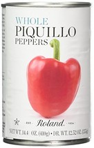 Roland Piquillo Peppers, Whole, 14.4 Ounce Pack of 4 - $34.22