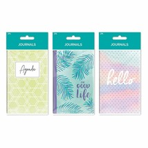 B-THERE Bundle of Pocket Journal Set - 6 Notebooks Total! 3 Different De... - $13.69