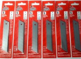 Vermont American 59185 Large Break-Away Blades 6-5 Packs - $3.71