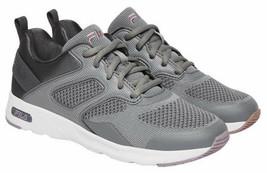 Brand New Women's Fila Lt. Grey Memory Foam Frame V6 Athletic Running Shoes image 1