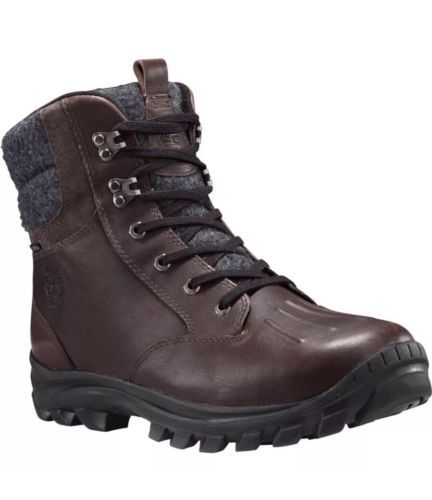 b73b502ea29c4 Timberland Chillberg Mid Leather Fabric Boot Men TB0A186R Size 12M