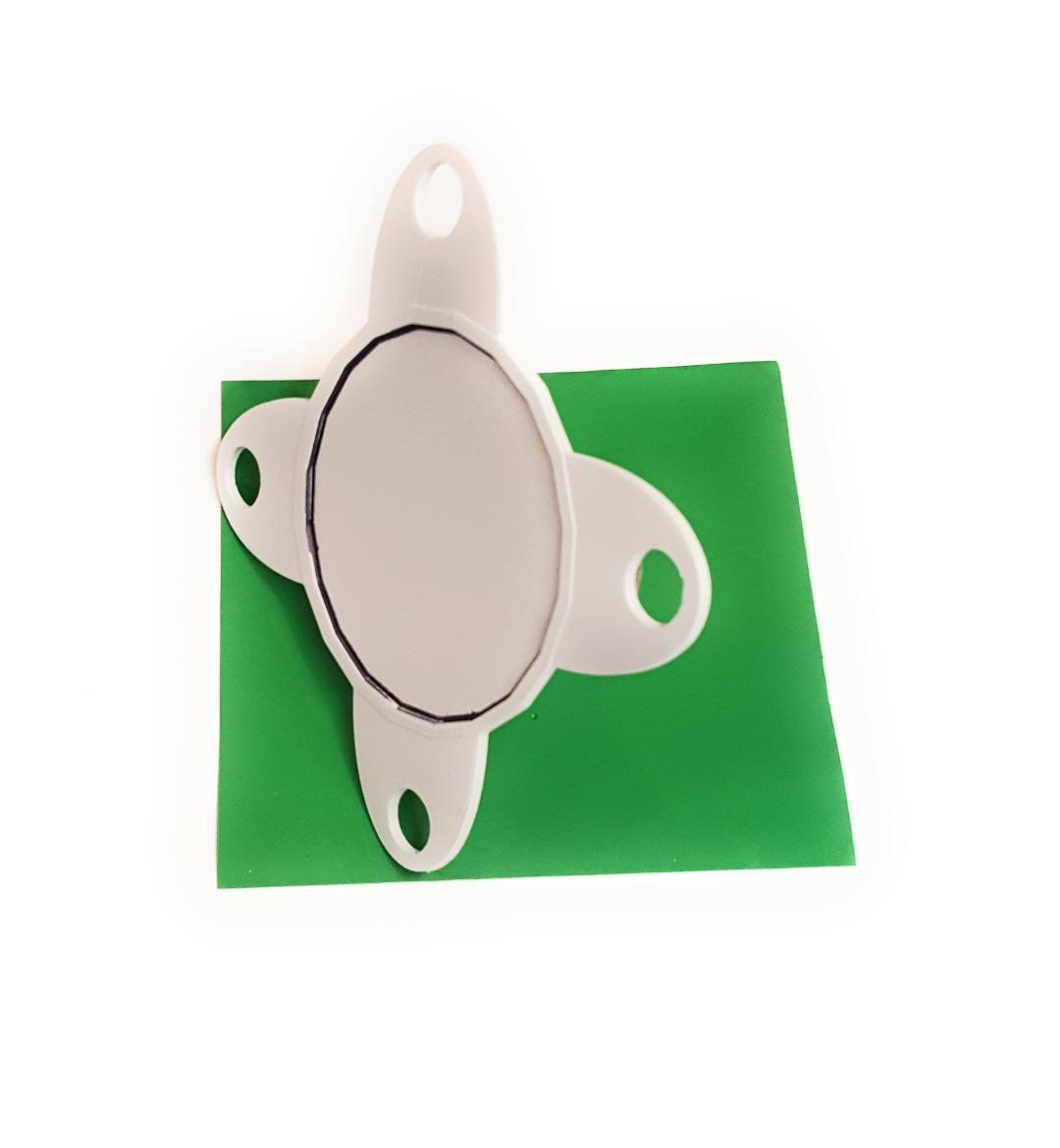 Canasta  - Slider for playing Card Tray White EZ Glider