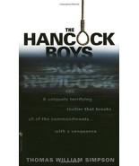 The Hancock Boys By Thomas William Simpson - $4.35
