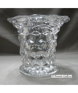 Older  American Clear Fostoria Glass FLARED VASE - $8.99