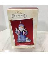 2002 Woodland Friends Hallmark Christmas Tree Ornament MIB Price Tag H2 - $22.28
