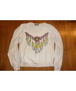 WILDFOX Women's Dream Catcher Pullover Sweatshirt Jumper size Small - $35.63