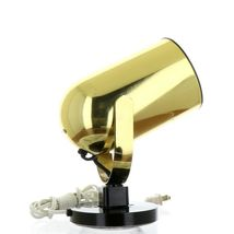 Vintage 1980s Gold Tone Juno Track Can Accent Spot Light image 6