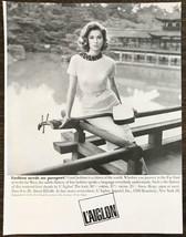 1961 L'Aiglon Apparel New York PRINT AD Fashion Needs No Passport - $11.89