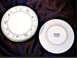 Abingdon Fine Porcelain China Dessert Plates Made in Japan AA18 - 1152-C Vintage image 3
