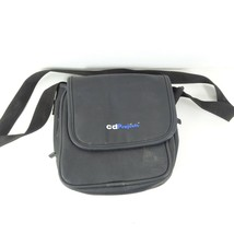 Vintage CD Projects Sony Discman Case Black With Pockets  - $17.99