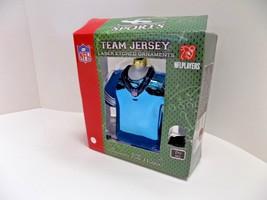 "Nfl Football Christmas Ornament Green Bay Packers Huge 5""x5"" Team Jersey Favre - $4.75"