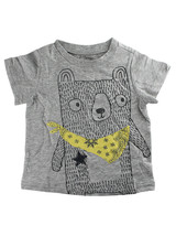 First Impressions Baby Boys Bandana Bear Gray T-Shirt - $6.00