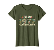 Uncle Shirts -   Vintage 1977 41th All Original Parts Birthday Funny T-S... - $19.95+
