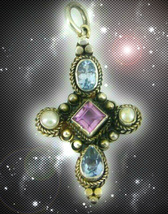 HAUNTED NECKLACE THE DARK MOON PROMISES YOU CLEANSING EXTREME SECRET OOAK MAGICK - $9,333.77