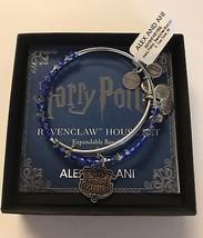 Alex Ani Harry Potter Ravenclaw Motto Set Bangle Two Tone Finish New wit... - $89.09