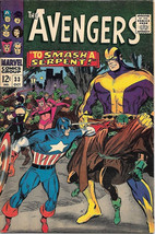 The Avengers Comic Book #33, Marvel Comics Group 1966 FINE+ - $36.18