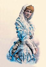 Sarah Bernhardt by Nathaniel Currier - Art Print - $19.99+
