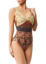 GOTTEX Collection L'Amour Sequin Print Swimsuit 16LM-149R BNWT - $105.26