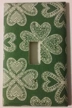 Shamrock Light Switch Plate Cover outlets home wall decor kitchen St Pat... - $8.34