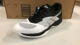 Asics NETBURNER BALLISTIC FF Women's WHITE/SILVER Volleyball Shoes Size 8 M - $69.29