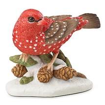 Lenox 2016 Strawberry Finch Bird Figurine Annual Garden Christmas Gift C... - $39.49