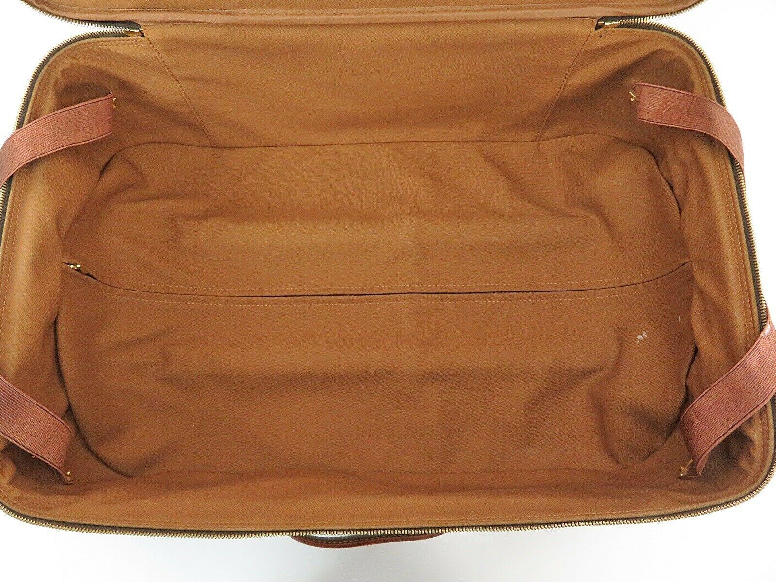 Authentic LOUIS VUITTON Pegase 55 Monogram Canvas Travel Rolling Suitcase #32952