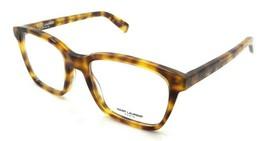 Saint Laurent Eyeglasses Frames SL 165 003 52-19-145 Havana Made in Italy - $196.00