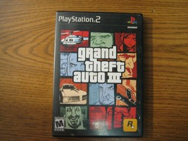 Grand Theft Auto III 3 GTA3 Playstation 2 Driving Game - $11.25