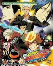 Katekyo Hitman Reborn! Complete Set TV 1~203 end English Subtitle Ship From USA