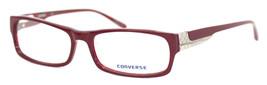 Converse Mens Ophthalmic Eyeglass Rectangle Plastic Frame Invent Burgundy - $44.99