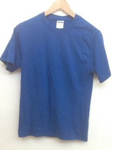 T-SHIRT - BY JERZEES - SIZE  Adult Small Blue Heavyweight Blend - $6.95