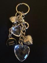 Kathy Van Zeeland Purse Charm Keychain Fob Hear... - $13.98