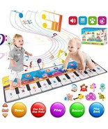 Retruth Kids Musical Mat Toys, Piano Mat Keyboard Dancing Mat with 8 Ins... - $34.54