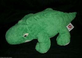 Ty Pluffies 2005 Chomps Green Alligator Stuffed Animal Plush Toy Crocodile Gator - $18.70