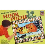 MasterPieces Really Big 2' x 3' Noah's Ark Floor Puzzle 36 Pieces EUC - $14.50