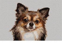 pepita Chihuahua Needlepoint Kit - $80.00