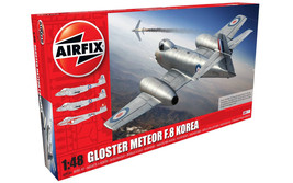 Gloster Meteor F.8 Korea Plastic Model Airplane Kit 09184 - $50.88