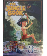 The Jungle Book (DVD, 2016) Plus 3 Bonus Fairy Tales - Disc Only - $29.28