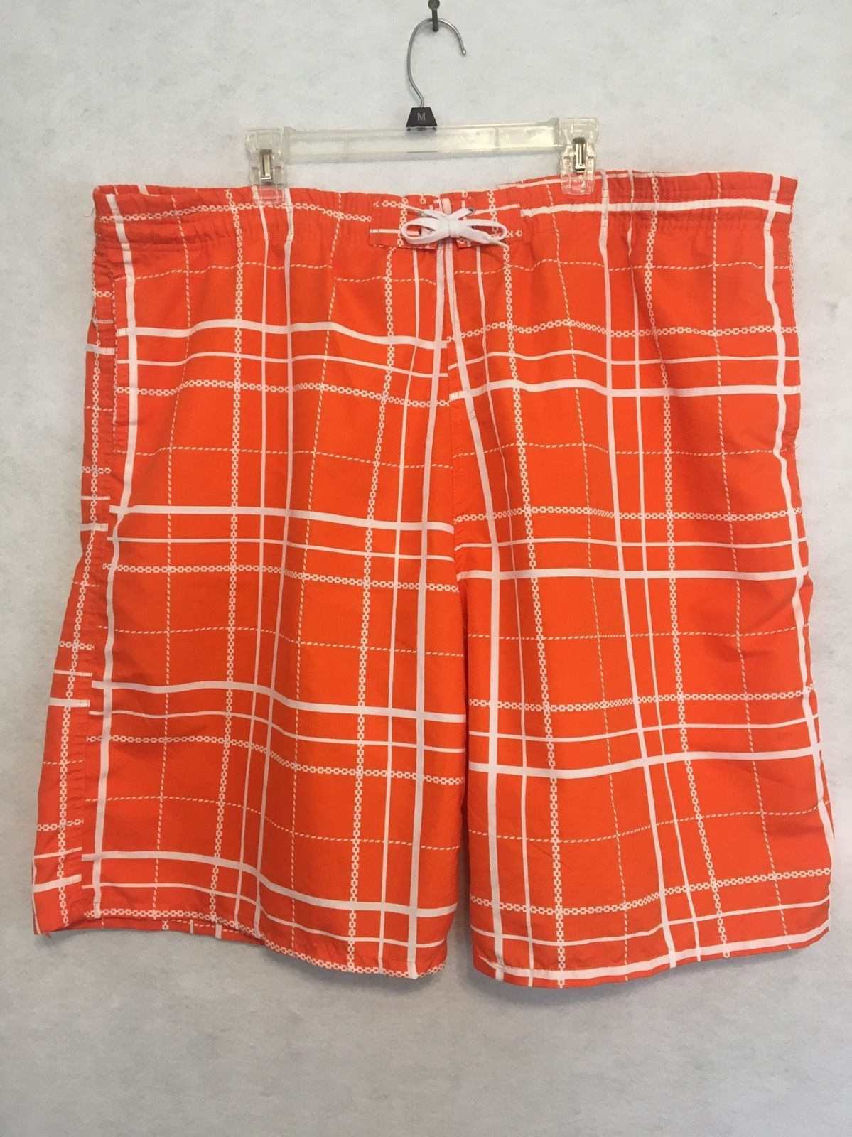86b5b8fcf2 Nbn Gear Orange White Cargo Swim Trunks Mens and 50 similar items