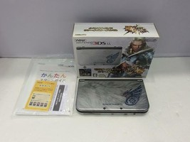 Monster Hunter 4G Nintendo 3DS LL console only JAPAN - $185.96
