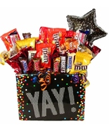 Celebration Assorted Candy Gift Basket by The Candy Vessel - $24.99