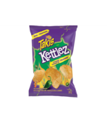 3 Bags BARCEL TAKIS Kettlez Typhoon Jalapeño Flavour Potato CHIPS 9 200g... - $25.49