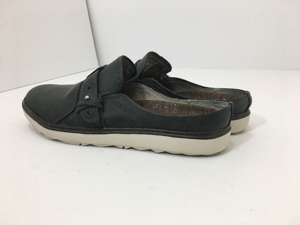 Merrell Around Town Slip On Granite Leather Comfort Women's Shoes Size 7.5 M