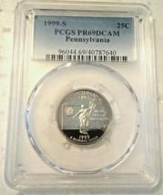 1999 S 25C PCGS PR69DCAM#40787640 - $9.89
