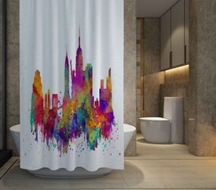 """HOT SALE NYC in Colors Shower Curtain Size 60"""" x 72"""" Free Shipping    - $48.10"""
