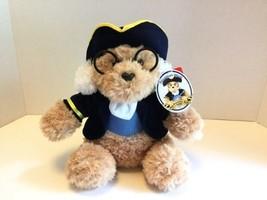Ben Franklin Plush Stuffed Teddy Bear 10in Aurora World Philadelphia Off... - $16.82