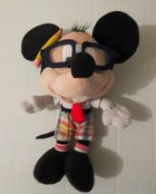 "Mickey Mouse Nerd Plush 11"" Disney Collectible Stuffed Animal Boys & Gir... - $29.69"