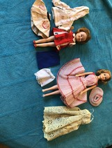 VINTAGE IDEAL 1965 Original Tressy & 1963 Dolls Penny Brite & Labeled Clothes - $148.49