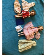 VINTAGE IDEAL 1965 Original Tressy & 1963 Dolls Penny Brite & Labeled Cl... - $148.49